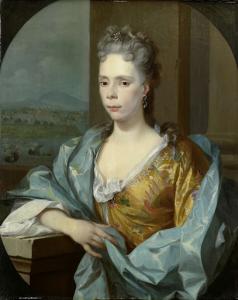 アブラハム・ヴァン・リーベックの娘、ゲランド・ヴァン・オーステンの妻、エリザベス・ヴァン・リーベックの肖像