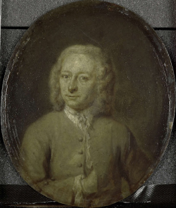 アムステルダムの詩人であり劇作家でもあるフランス・ヴァン・ステインワイクの肖像