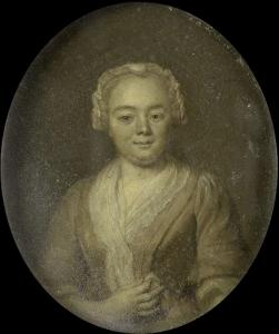 ベルナルダス・ボッシュの妻、マルガレータ・ヴァン・ルーヴェニーの肖像