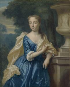 アイザック・パーカーの妻、ジャスティーナ・ヨハンナ・ラムスクラマー(1702-98)