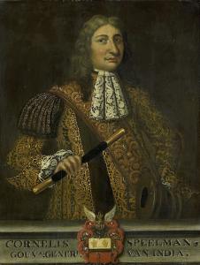 オランダ領東インド総督、コーネリス・シュピールマンの肖像