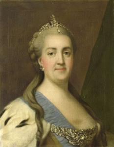 ロシアの皇后、カテリーナ2世