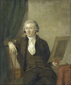 画家、エグバルト・ヴァン・ドリエルスト(1745-1818)