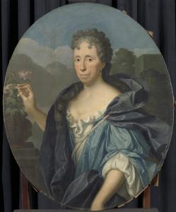 アレント・ヴァン・ビューレンの妻、サビーナ・アグネタ・ダケットの肖像