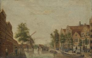 アムステルダムのブローウェルスグラハト