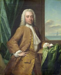 アイザック・パーカー(1702-55)、ミデルブルグの商人