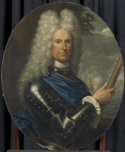 海軍少将アレント・ヴァン・ビューレンの肖像