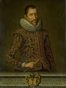 オランダ領東インド総督、ヤン・ピーターズ・コーエンの肖像