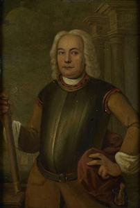 オランダ東インド会社総督、ヨハネス・テデンスの肖像
