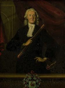 オランダ領東インド総督、マテウス・デ・ハーンの肖像