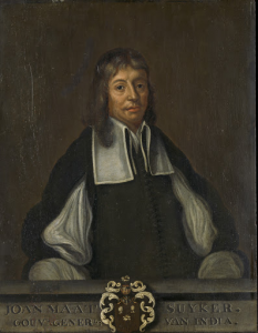 オランダ領東インド総督、ジョーン・メツイカーの肖像