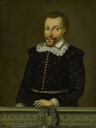 オランダ領東インド総督、ピーター・ボスの肖像