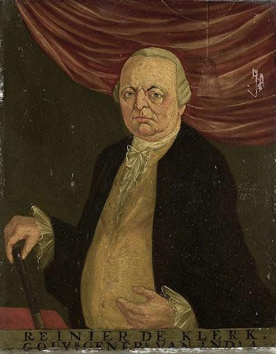 オランダ東インド会社総督、ライニアー・デ・クラークの肖像