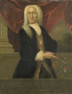 オランダ東インド会社総督、アブラハム・パトラスの肖像