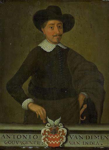 オランダ東インド会社総督、アントニオ・ヴァン・ディーメンの肖像