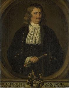 オランダ東インド会社総督、クリストフェル・ヴァン・スウォルの肖像