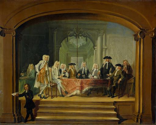 1729年、アムステルダムのパドレ孤児院の弁護士