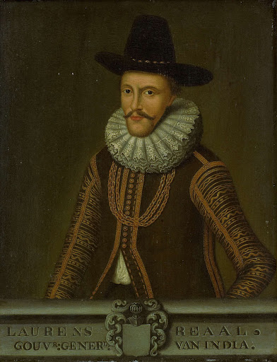 オランダ東インド会社総督、ローレンス・リールの肖像