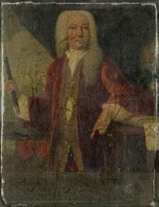 オランダ東インド会社総督、アドリアーン・ヴァルケニアの肖像