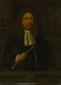 オランダ領東インド総督、ヨハネス・カンピュイスの肖像