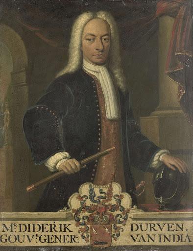 オランダ領東インド総督、ディーデリク・ヴァン・デュルヴェンの肖像