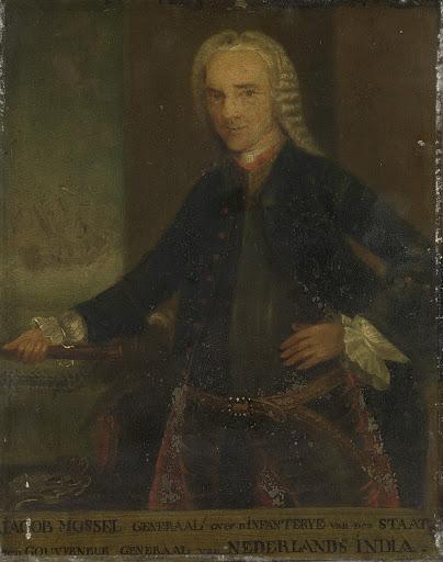 オランダ東インド会社総督、ヤコブ・モーゼルの肖像