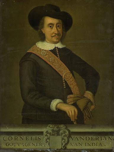 オランダ領東インド総督、コーネリス・ヴァン・デル・リンスの肖像