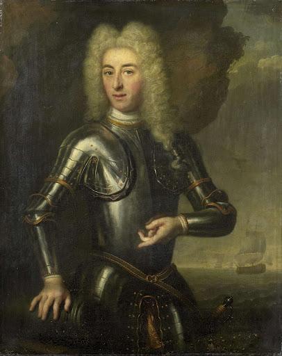 アムステルダムの海軍大尉、ヘンドリック・リンスラガーの肖像