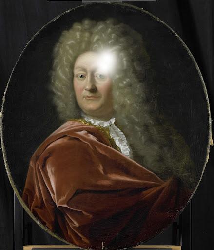 1703年に選ばれた、オランダ領東インド会社のロッテルダム支社長、アドリアン・パーツの肖像