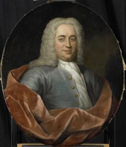 1731年に選ばれた、オランダ領東インド会社のロッテルダム支社長、ウォルター・センサーフの肖像