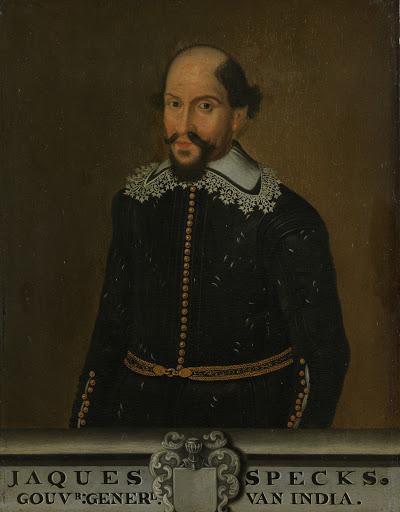 オランダ領東インド総督、ジャック・スペックの肖像