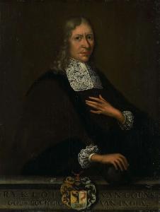オランダ東インド会社総督、リクロフ・ヴァン・ゴーエンズの肖像