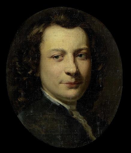 ジョージ・ファン・デル・ミンの肖像画、画家