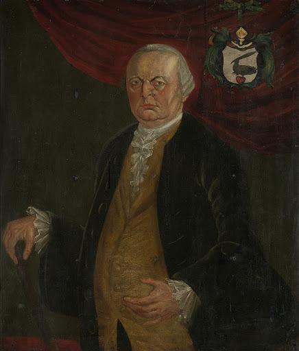 レイニー・ド・クラークの肖像画、オランダ東インド会社の総督