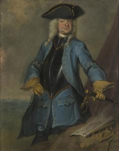 ゲリット・シッターマン(1688-1730)、騎兵総司令官、オレンジ・グローニンゲン歩兵連隊の大佐、基地司令官