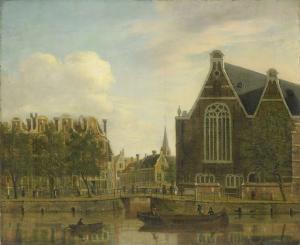 いわゆるスパイのボレナーブリッジ、アステルダム
