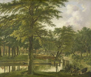 ボルベリク近くの新しい運河の眺め、ハルレム