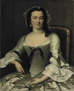 マリア・アンリエット・ファン・デ・ポールの肖像画、ウィレム・ソーティンの妻