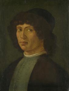 若い男性の肖像