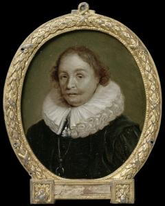 フラネケルの修辞学と歴史の教授、ピエリウス・ウィンセミウスの肖像