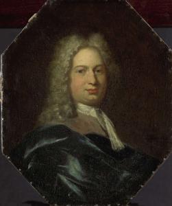 アムステルダムのラテン学校の教授、アイザック・ヴェルブルグの肖像