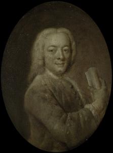 アムステルダムの詩人、アートパトロン、ベルナルダス・デ・ボッシュの肖像
