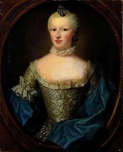 コーネリス・ムンターの妻、マルガレータ・コーネリア・ヴァン・デ・ポールの肖像