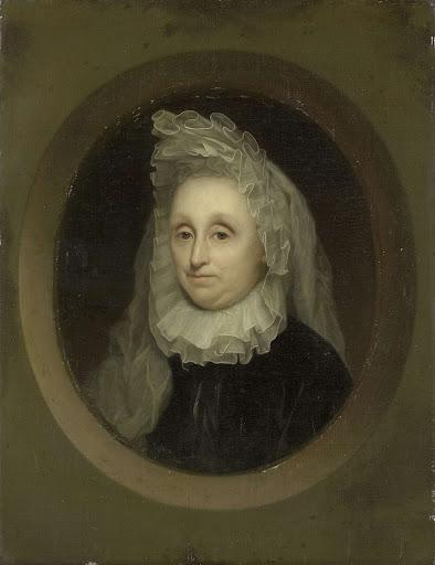 アーノート・ヴァン・シターズの二番目の妻、ヨスニア・パルデュイン(1642-1718)の肖像