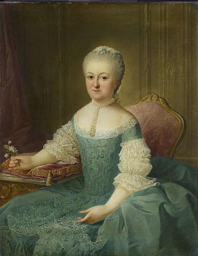 おそらくヤン・ヴァン・デ・ポールの妻であるアンナ・マリア・デデルであろう、ポール家の女の肖像
