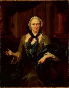 ヘンドリック・ヴァン・デ・ポールの妻、マルガレッタ・トリップの肖像