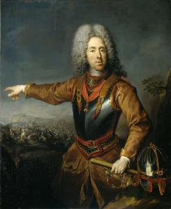 サヴォイの王子、ユージーンの肖像