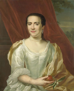 ジャストゥス・ティーンクの妻、マルガレータ・ルーヴェリング(1738-83)