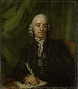 アムステルダムの出版者、本屋、ピーター・メイヤーの肖像