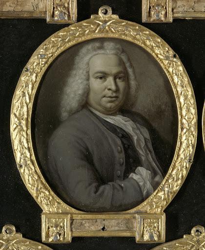 ライデンの法学者、詩人、テオドール・ヴァン・スネーケンブルグ(1695-1750)の肖像